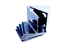 CD + DVD HIGHEST QUALITY CASES - FREE DELIVERY