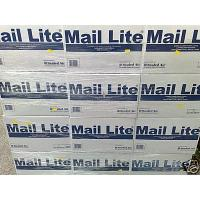 B/00 MAIL LITE WHITE BUBBLE LINED PADDED BAGS