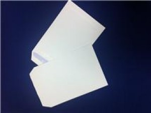 1000 X WHITE C5 ENVELOPES - NO WINDOW - SELF-SEAL