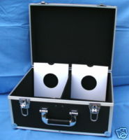 "7"" ALUMINIUM DJ FLIGHT CASES - VARIOUS STYLES"