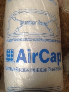 AIRCAP BUBBLE WRAP 300mm, 500mm or 750mm 100M+ 50M