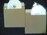 CD PEEL & SEAL CARD ENVELOPE MAILERS - FREE DEL.