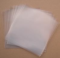 "7"" 250 GAUGE POLYTHENE RECORD SLEEVES"