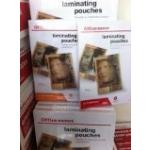 HIGH QUALITY LAMINATING POUCHES A5, A4 & A3/