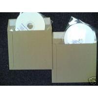 CD PEEL & SEAL CARD ENVELOPE MAILERS - FREE DEL.