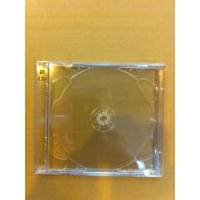 CD 'BRILLIANT BOX' DOUBLE CASES+CLEAR INSERT TRAYS