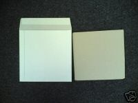 "50 7"" WHITE RECORD MAILERS AND 75 STIFFENERS"