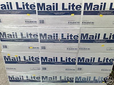 500 x H/5 MAIL LITE WHITE BUBBLE LINED PADDED BAGS