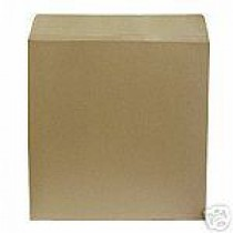 """25 7"""" BROWN 625 MICRON RECORD MAILERS"""