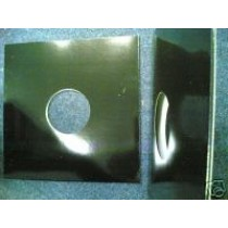 """50 12"""" BLACK SPINED ALBUM RECORD SLEEVES"""