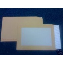 50 C3 PIP BOARD BACKED MANILLA ENVELOPES - FREE UK DELIVERY