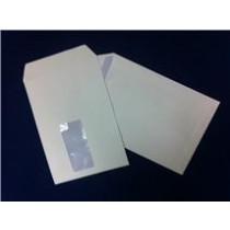 1000 X WHITE C5 ENVELOPES - WITH WINDOW - SELF-SEAL