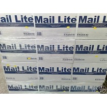 100 X C/0 MAIL LITE WHITE BUBBLE LINED PADDED BAGS