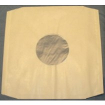 "100 12"" WHITE POLYLINED PAPER RECORD SLEEVES"