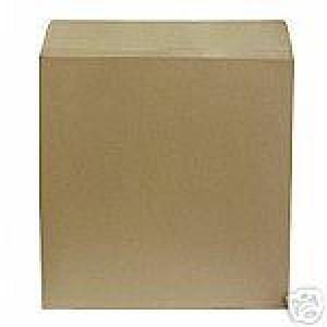 "100 7"" BROWN 625 MICRON RECORD MAILERS"