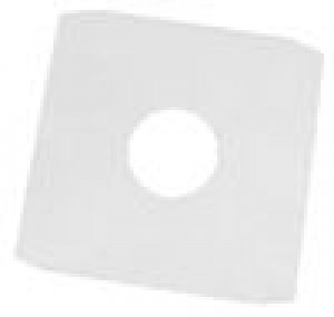 "100 12"" WHITE PAPER RECORD SLEEVES"