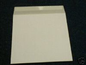 """50 12"""" WHITE RECORD MAILERS"""