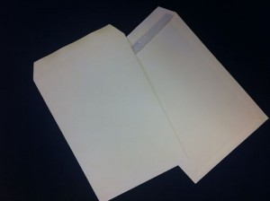 1000 X WHITE C4 ENVELOPES,WITH NO WINDOW, SELF-SEAL +24h