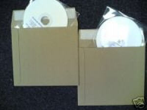 100 X CD ENVELOPE PEEL & SEAL MAILERS