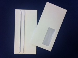 1000 X WHITE DL WITH WINDOW ENVELOPES SELF-SEAL