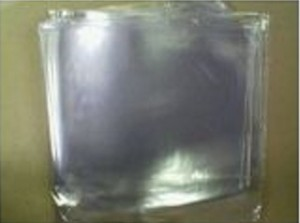 "10 X 7"" 'GLASS CLEAR' FINSHED PVC RECORD SLEEVES"